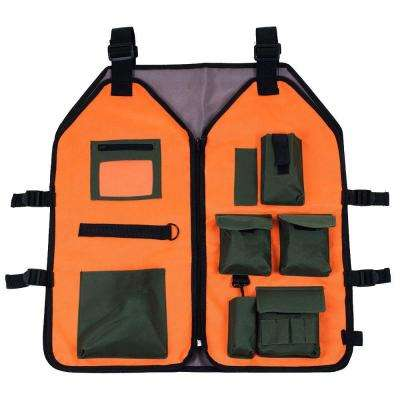 Nylon Vest with 7 Pockets and 4 Adjustable Straps
