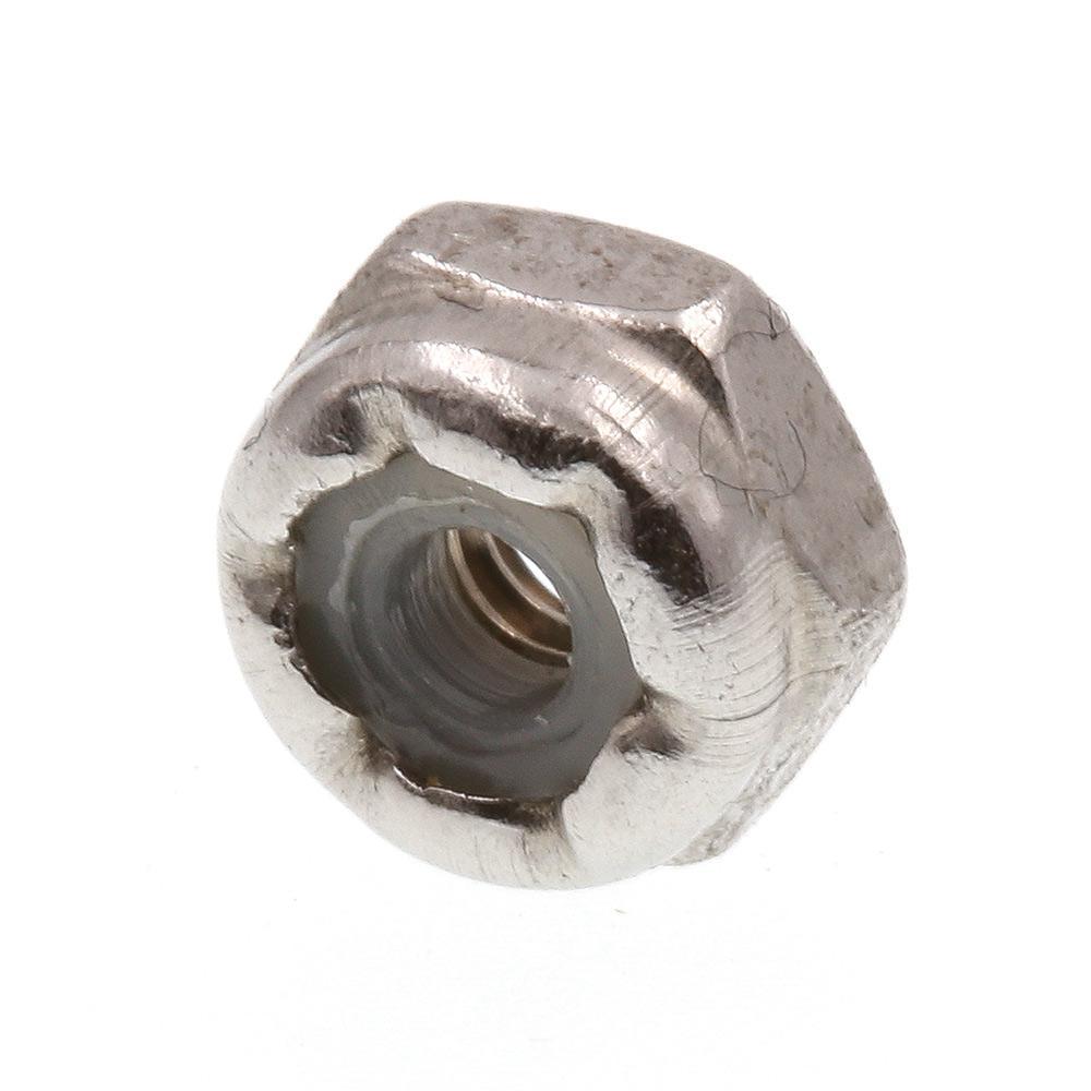 #4-40 Grade 18-8 Stainless Steel Nylon Insert Lock Nuts 25-Pack)