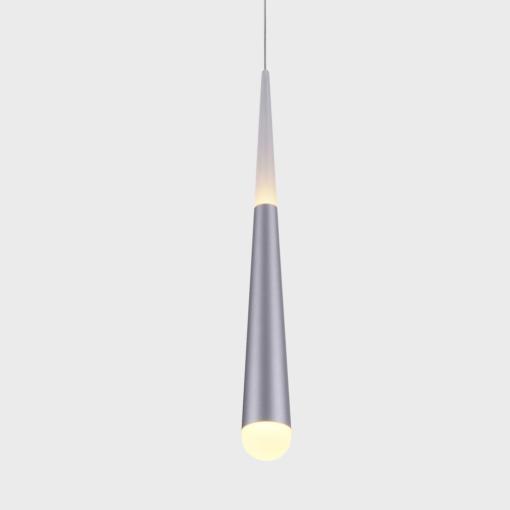 Vonn Lighting Procyon 7 Watt Silver Integrated Led Pendant Fixture