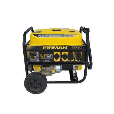 Performance 7100/5700-Watt Gas Powered Extended Run Time Portable Generator
