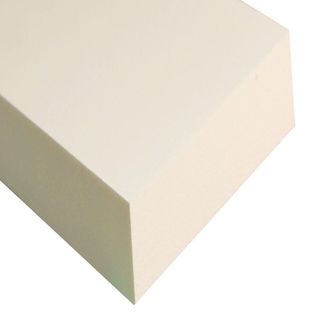 3/4 in. x 1-1/2 in. x 8 ft. White PVC Trim