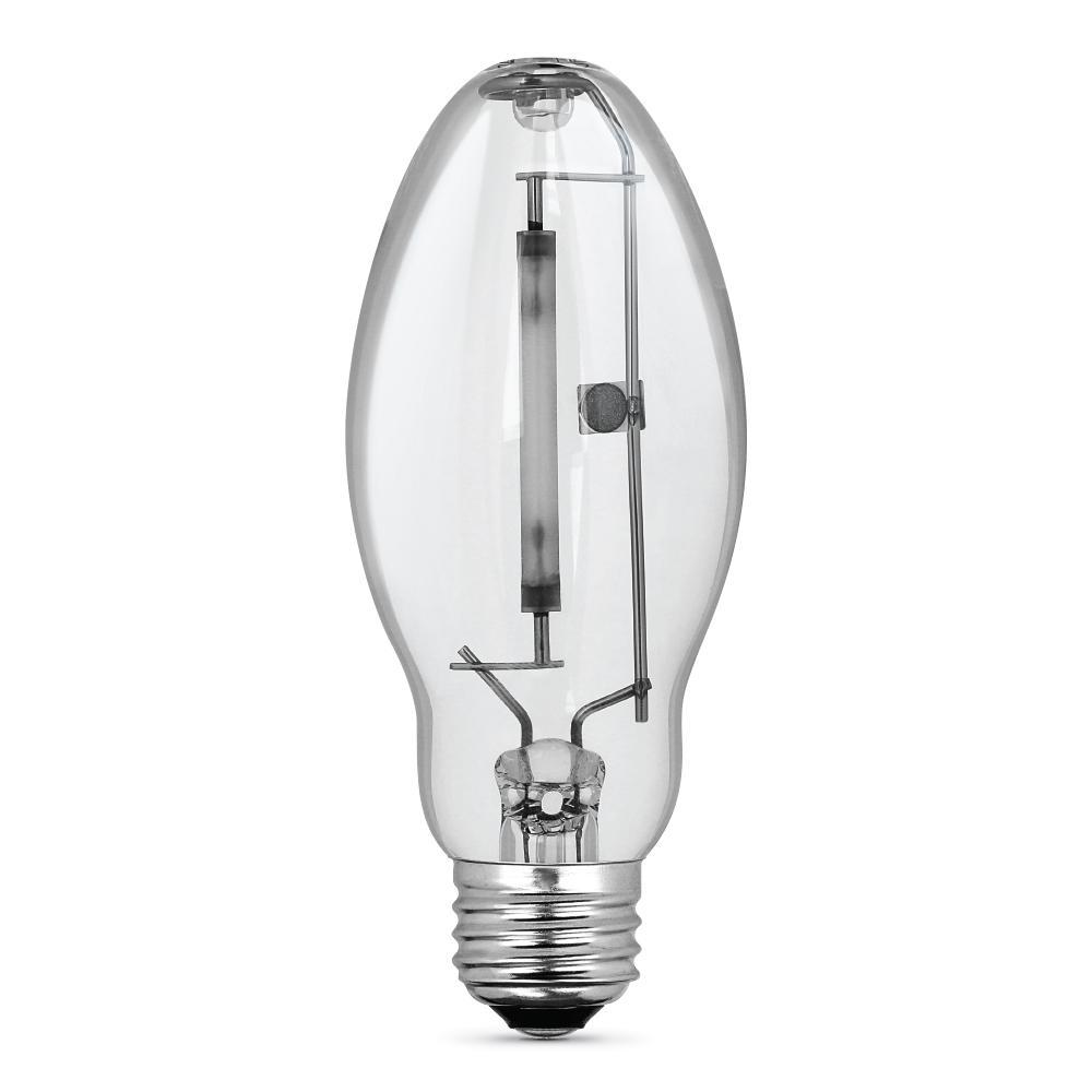 70-Watt ED17 Shape Clear High Pressure Sodium E26 Medium Base HID Light Bulb (1-Bulb)