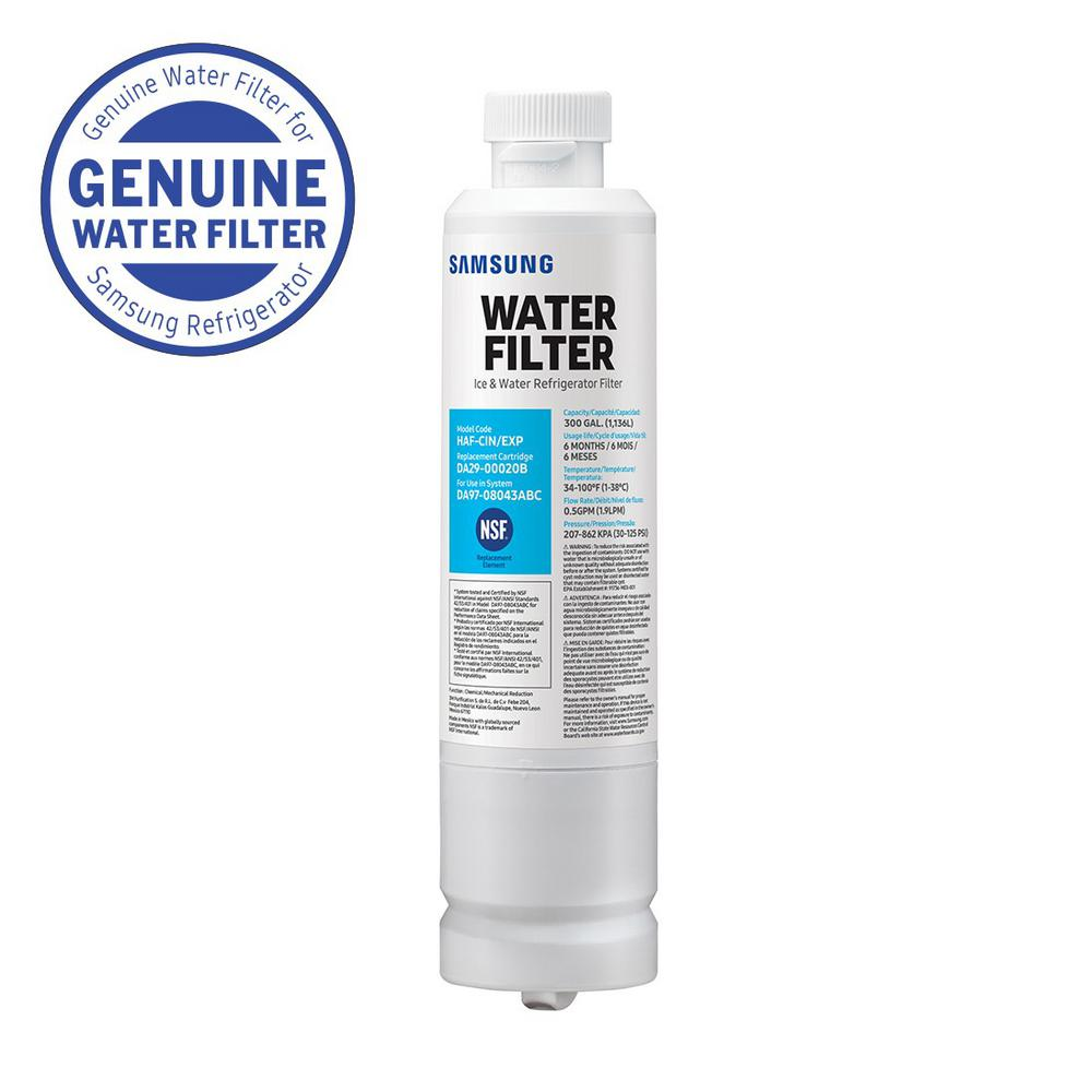 RF25HMEDBSR Compatible Refrigerator Water and Ice Filter 2 Pack