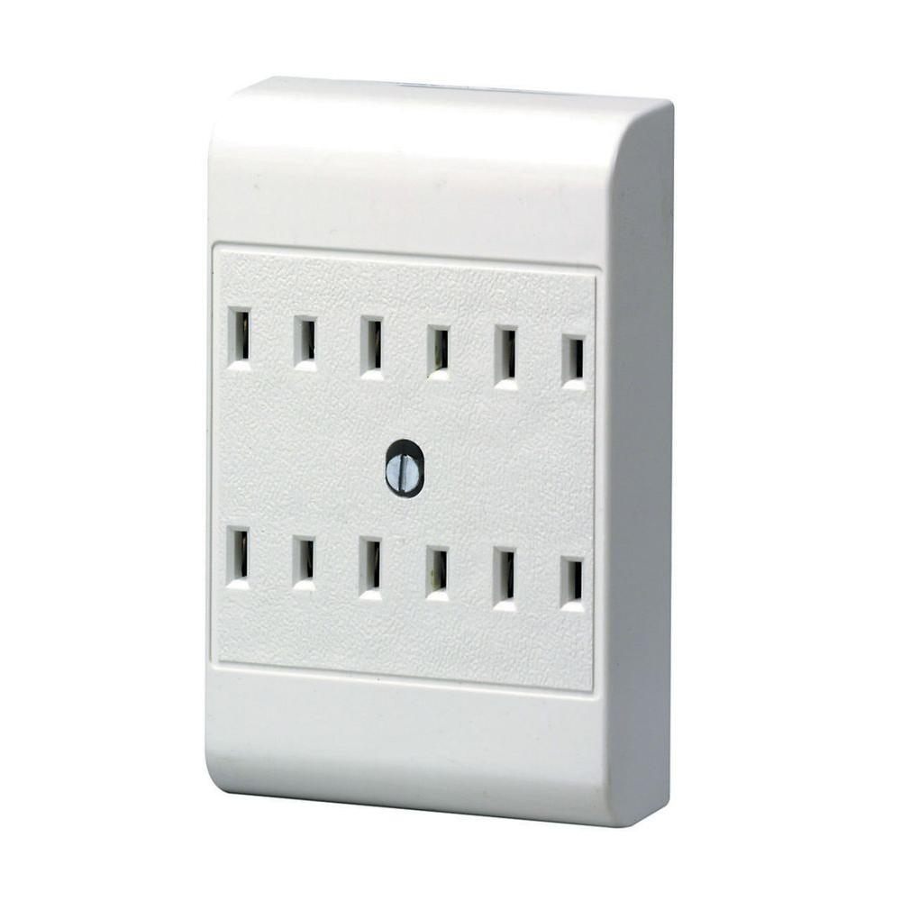 Leviton 6-Outlet Adapter