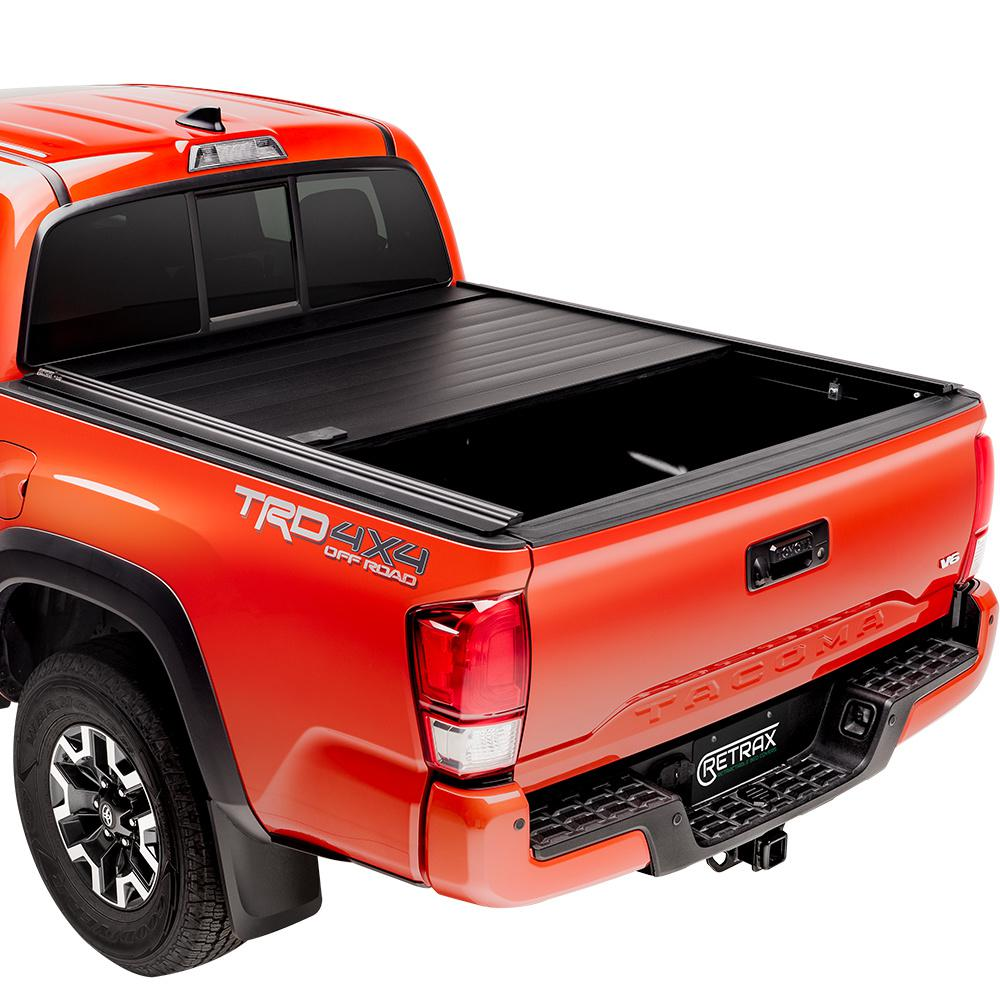 Retrax Pro Mx Tonneau Cover 07 19 Toyota Tundra Regular Double Cab 6 6 Bed W Deck Rail System W Out Stake Pockets 80842 The Home Depot