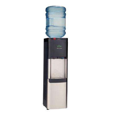 Self-Clean Stainless Steel Hot and Cold Water Cooler