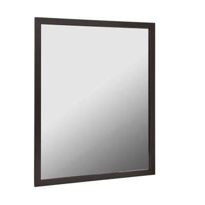 Reflections 36 in. W x 30 in. H Aluminum Wall Framed Mirror in Oil Rubbed Bronze