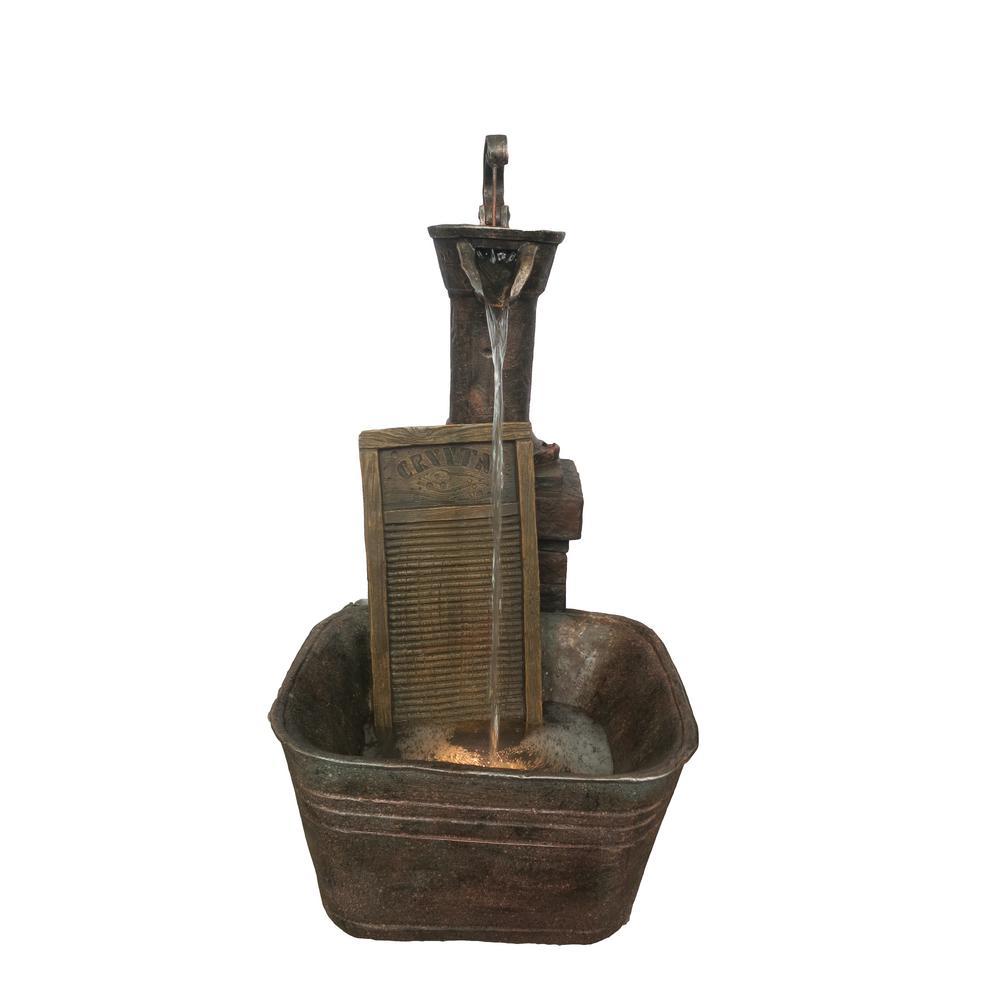 Washboard Fountain