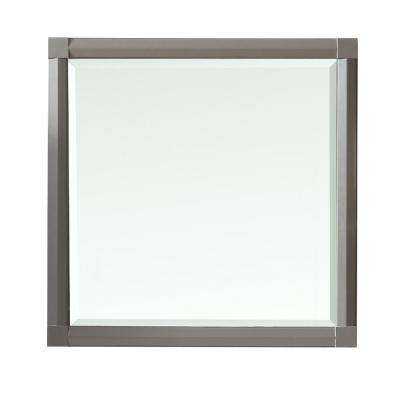 Sutton 28 in. x 28 in. Framed Wall Mirror in Brook Trout