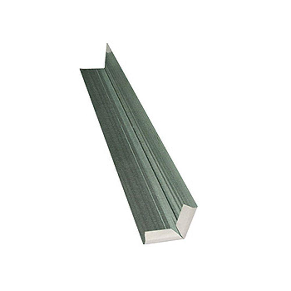 WeatherSide 14 in. Individual Aluminum Corner (Piece)