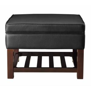 Outstanding Acme Furniture Keiko Dark Brown Cocktail Ottoman With Ocoug Best Dining Table And Chair Ideas Images Ocougorg