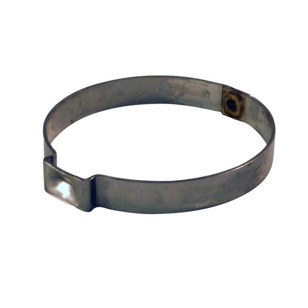 1 in. Stainless-Steel Poly Pipe Pinch Clamps (10-Pack)