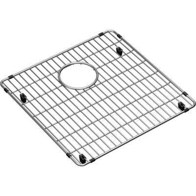 Crosstown Stainless Steel Kitchen Sink Bottom Grid  - Fits Bowl Size 17 in. x 17 in.