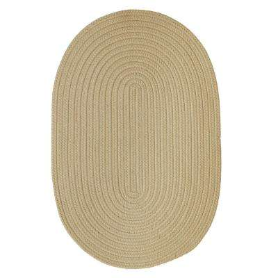 Trends Linen 8 ft. x 11 ft. Braided Oval Area Rug