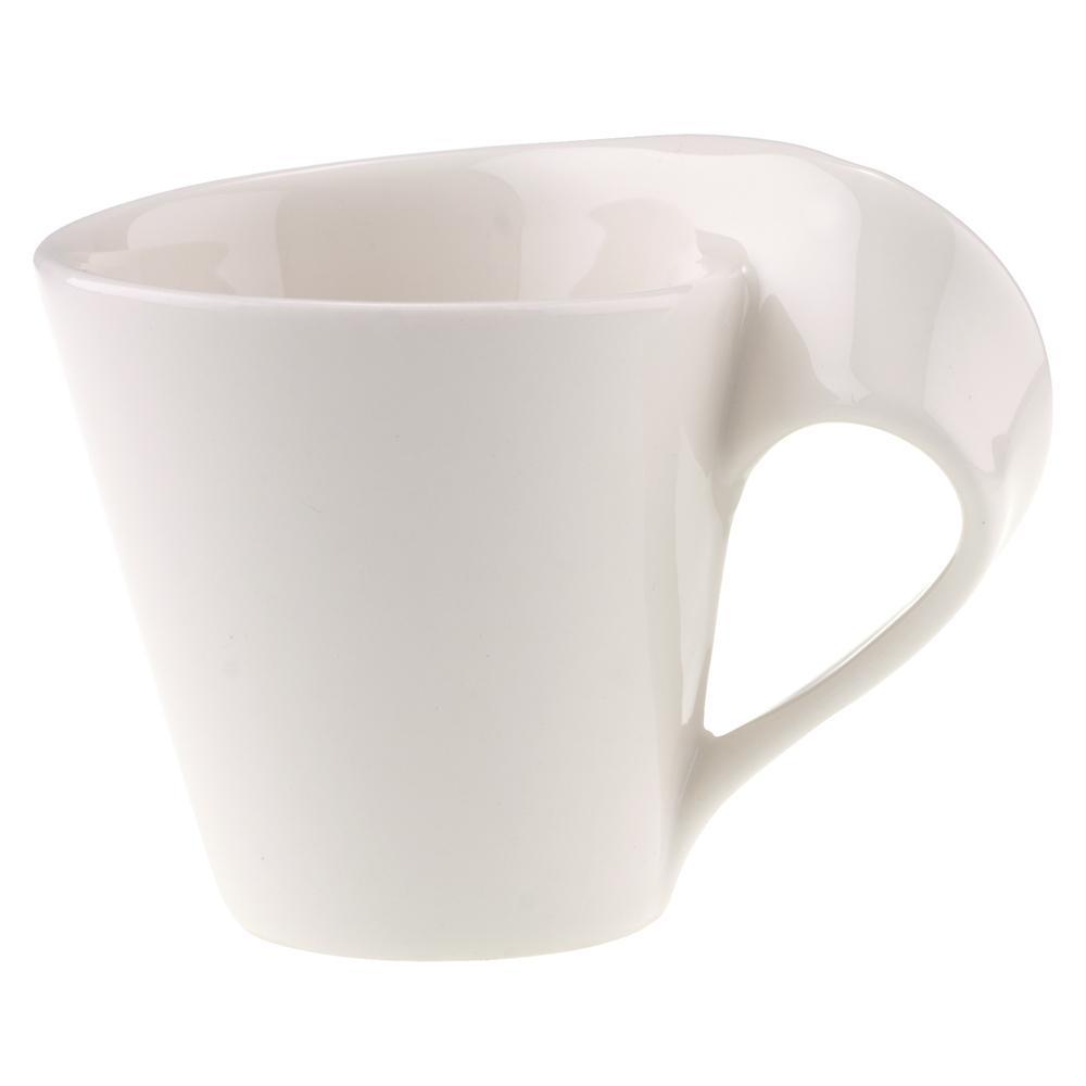 New Wave Caffe 2.75 oz. White Porcelain Espresso Cup