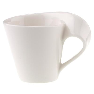 New Wave Caffe 2.75 oz. White Porcelain Espresso Cup