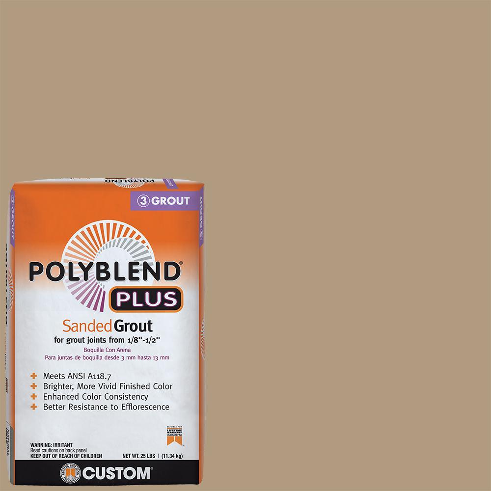 Polyblend Plus #186 Khaki 25 lb. Sanded Grout