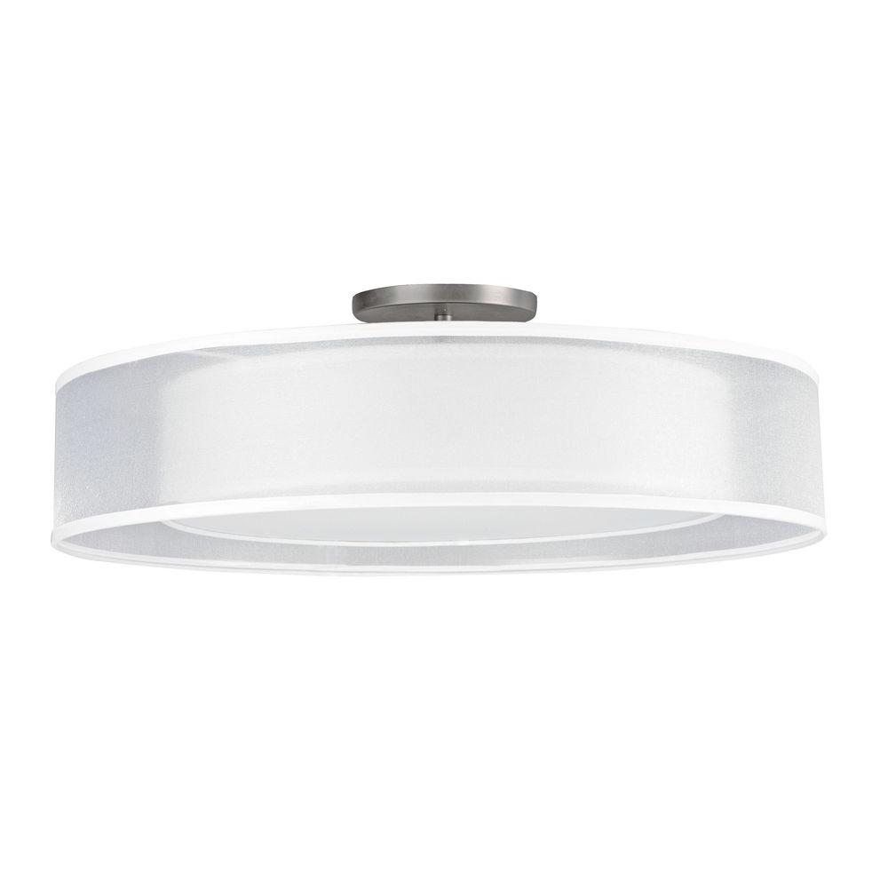 Radionic Hi Tech Orly 4-Light Satin Nickel Ceiling Mount