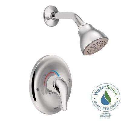 shower head and faucet combo. Chateau WaterSense Posi Temp 1 Handle Shower Only Faucet Trim Kit with  Valve in Chrome MOEN Showerhead Combos Showerheads