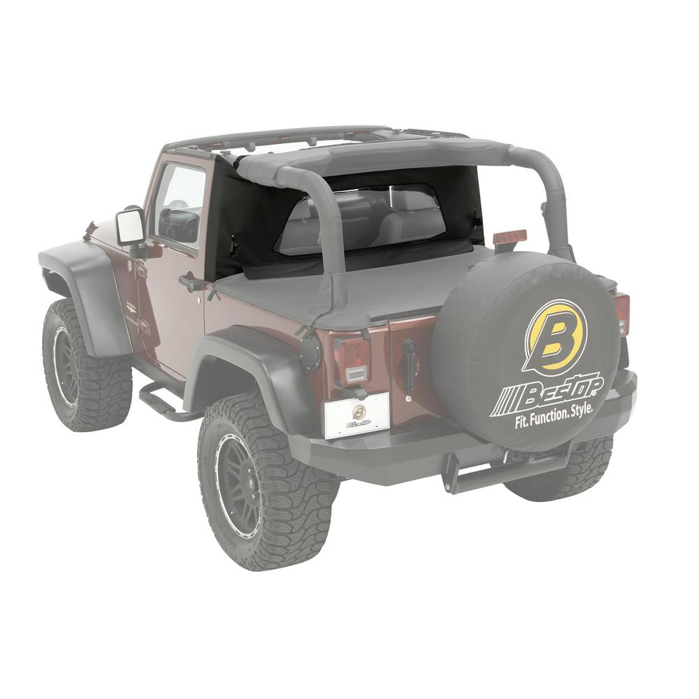 Bestop Sport Bar Covers Black Diamond for Jeep Wrangler 2003-2006