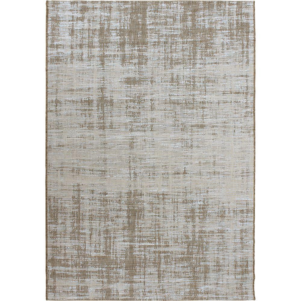 orian rugs rustic seashore gray 5 ft. 1 in. x 7 ft. 6 in. solid