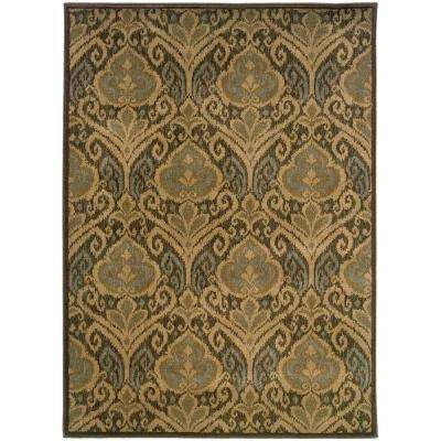 Treviso Stone 6 ft. 7 in. x 9 ft. 6 in. Area Rug