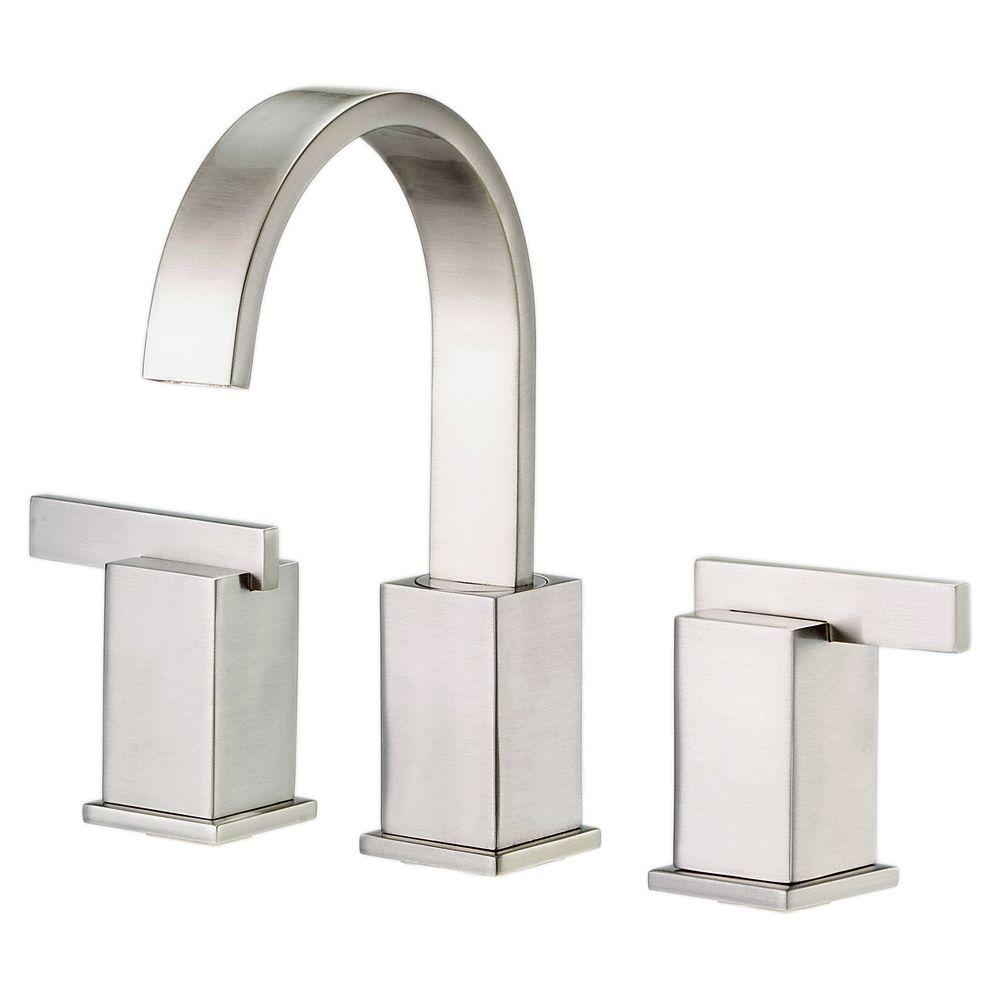 Danze Sirius 8 in. Widespread 2-Handle Mid-Arc Bathroom Faucet in ...