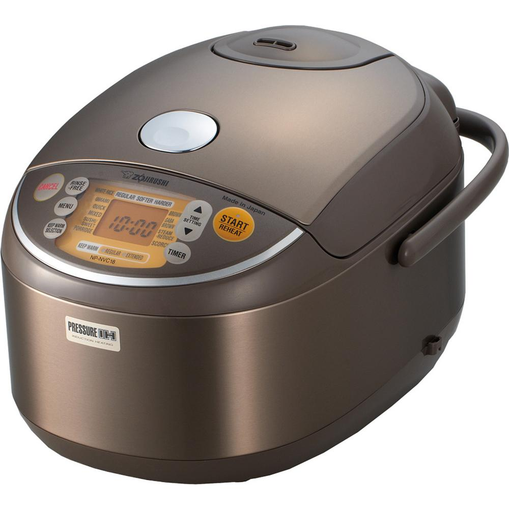 Pressure Rice Cooker Non Stick Surface Induction Heating Warmer Digital Display 726714827657 Ebay