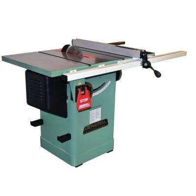 230-Volt 10 in. Blade Diameter 2 HP Table Saw with Cast Iron Table
