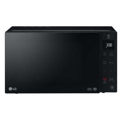 NeoChef 0.9 cu. ft. Countertop Microwave in Black
