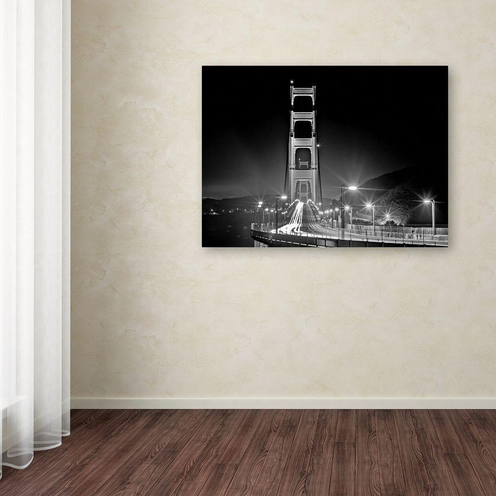 "18 in. x 24 in. ""San Francisco"" by Preston Printed Canvas"