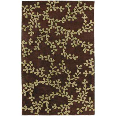 Creighton Brown 9 Ft X 13 Area Rug