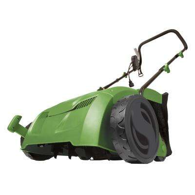 13 in. 12-Amp Electric 5-Position Scarifier and Lawn Dethatcher