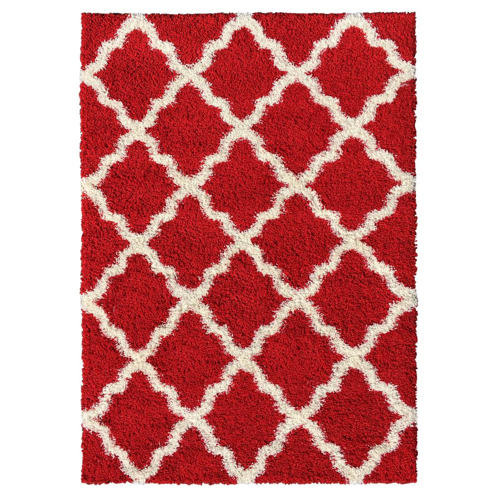 Bella Collection Red 1 ft. 8 in. x 2 ft. 7