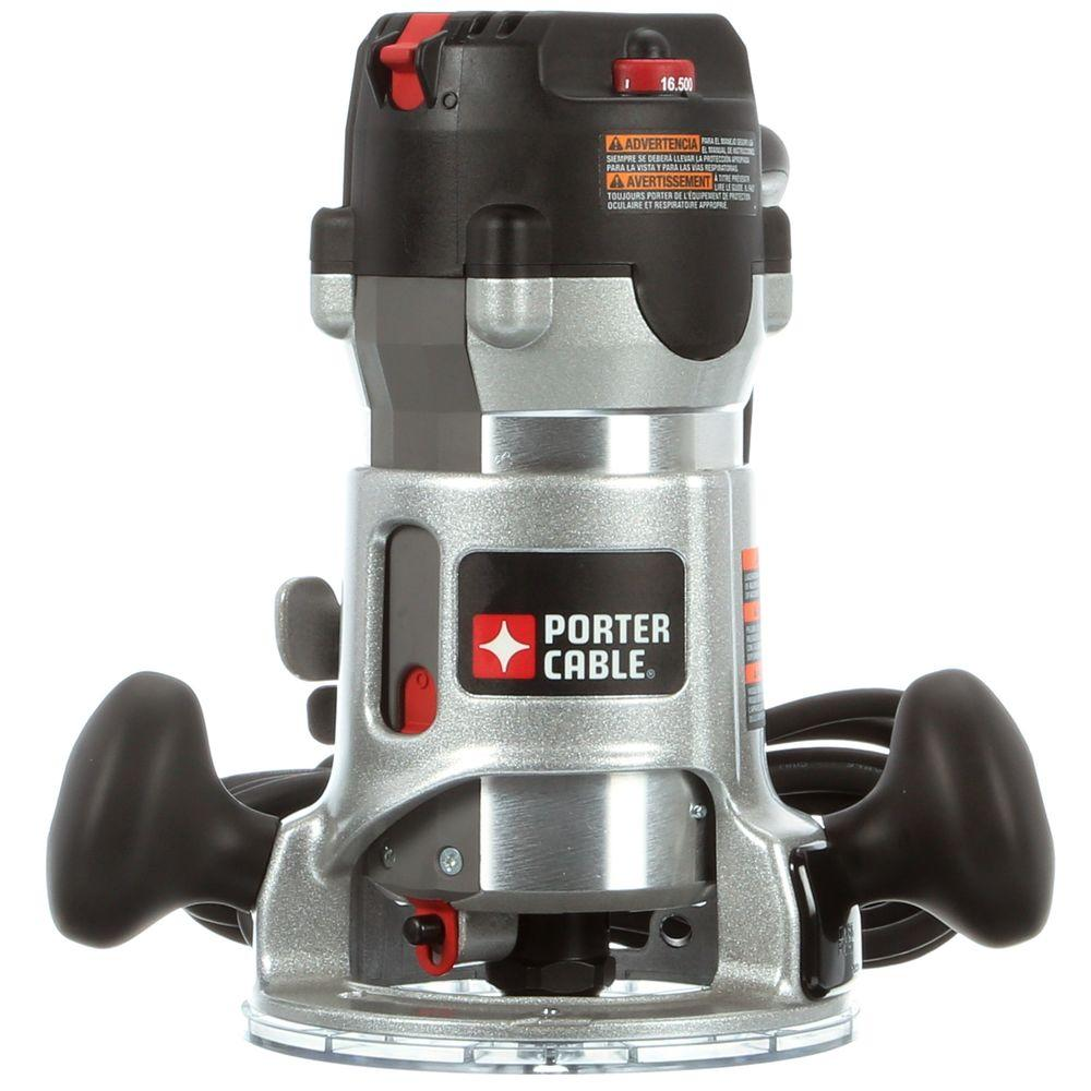 Porter cable 225 hp fixed base router kit 892 the home depot porter cable 225 hp fixed base router kit greentooth Image collections