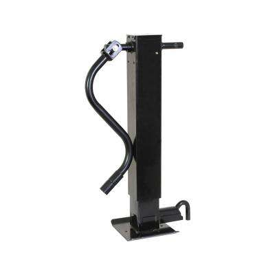 Square Tube Trailer Jack with Handle
