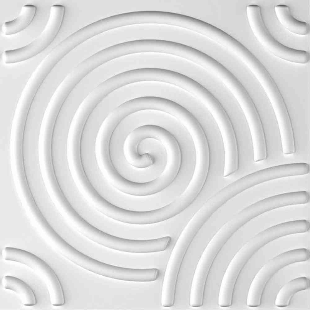 Ejoy Ripple 3D Fiber Wall Paneling (20 in. x 20 in. Per Piece, - Sale: $51.99 USD (13% off)