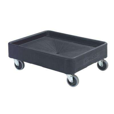 Cateraide 20 in. x 26 in. Black Dolly for Cateraide Top Loaders and End Loaders