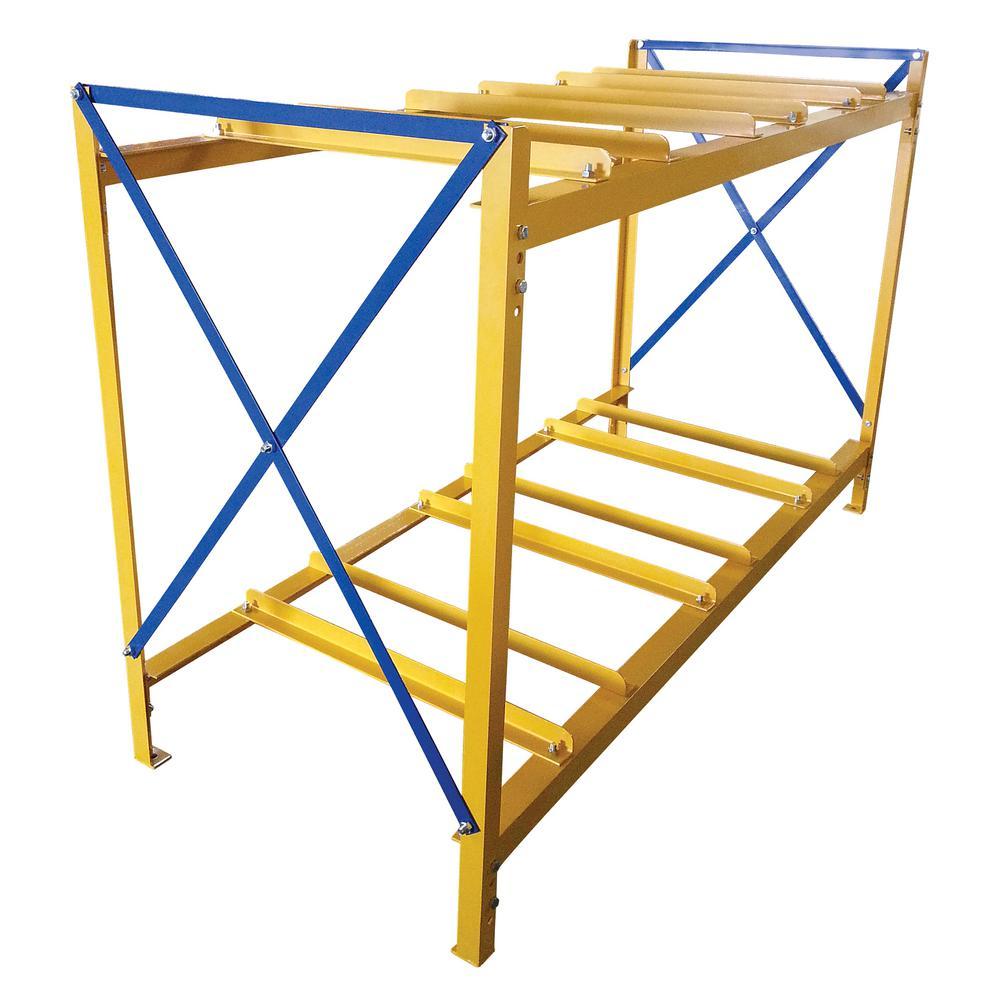 Vestil 3 Wide 2 High Drum Storage Rack  sc 1 st  Home Depot & Vestil 3 Wide 2 High Drum Storage Rack-DRK-3-2 - The Home Depot