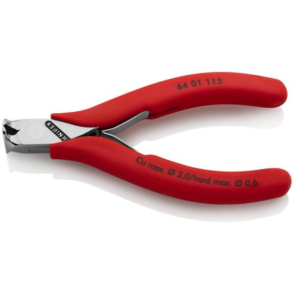 4-1/2 in. Electronics End Cutting Nippers with Plastic-Coated Handles