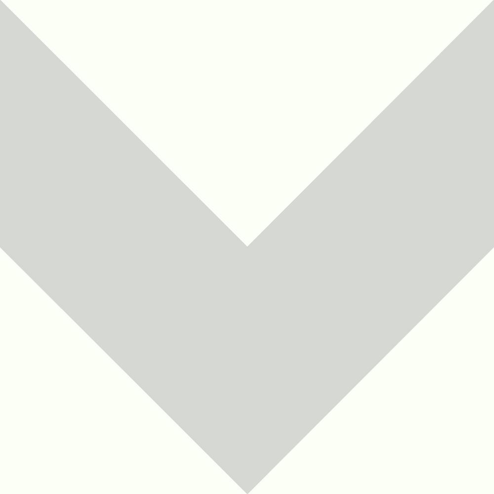 Grey Large Chevron Peel And Stick Wallpaper
