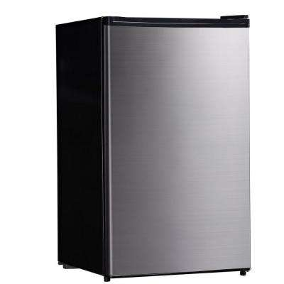 4.4 cu. ft. Mini Refrigerator in Stainless Steel