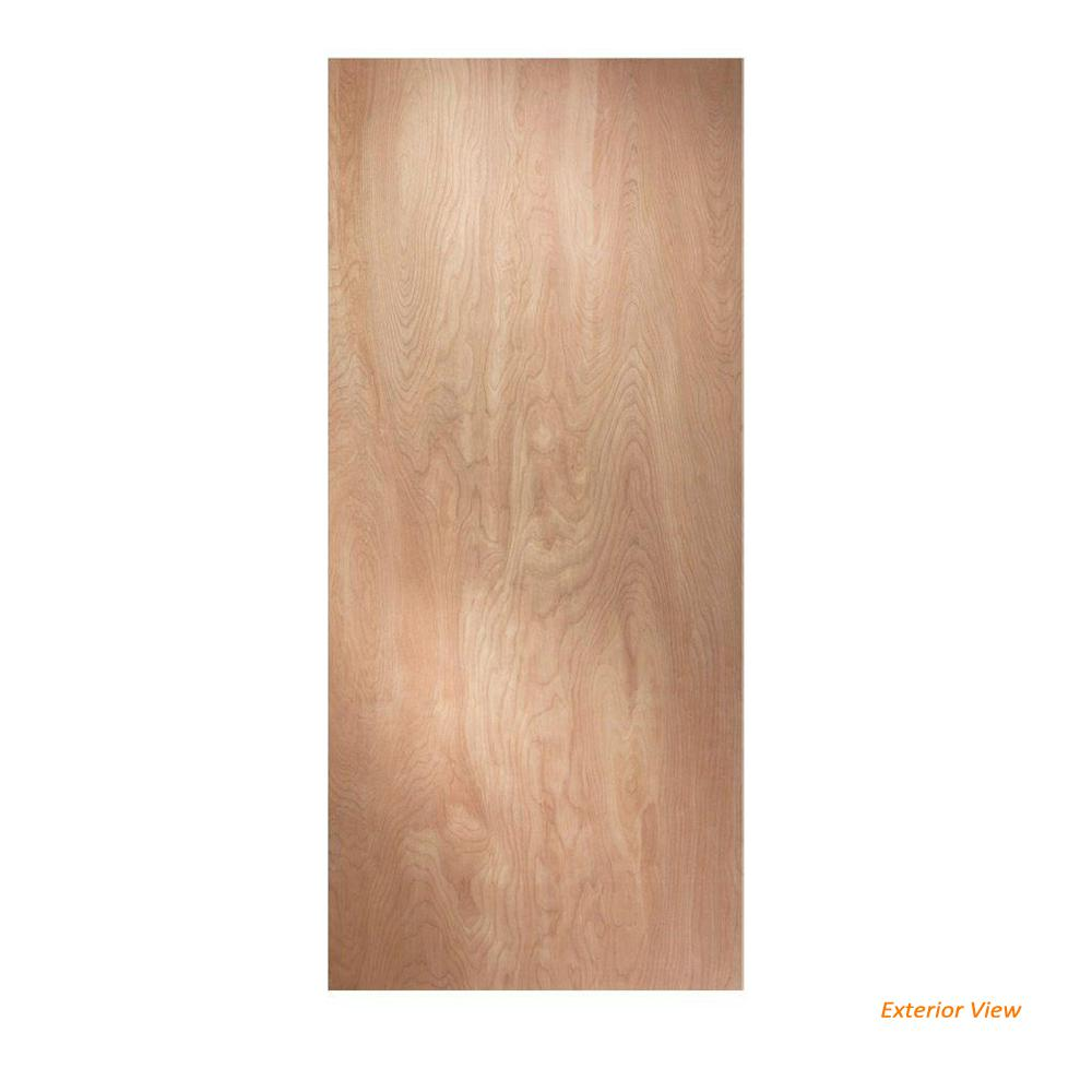 Jeld Wen 32 In X 80 In Hardwood Unfinished Flush Solid: JELD-WEN 28 In. X 80 In. Hardboard Flush Unfinished Solid