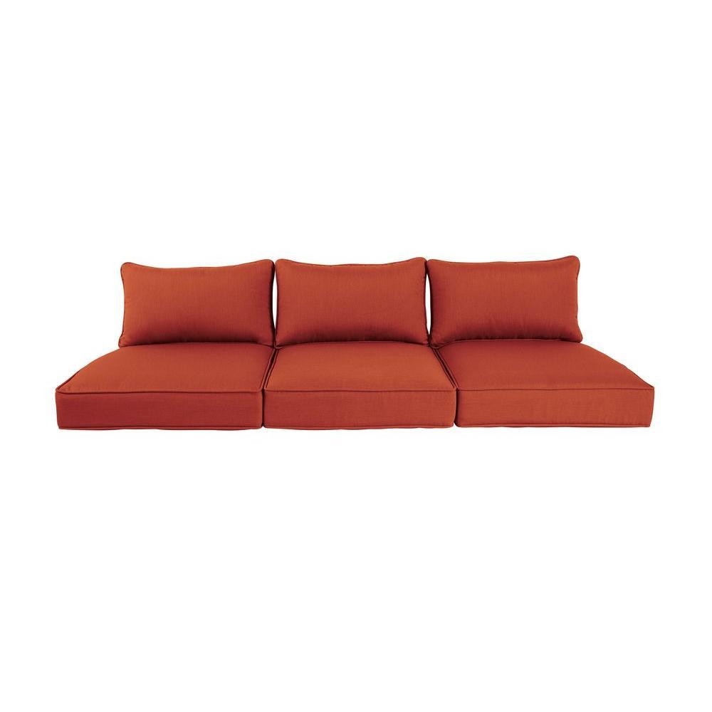 Greystone Cinnabar Replacement Outdoor Sofa Cushion
