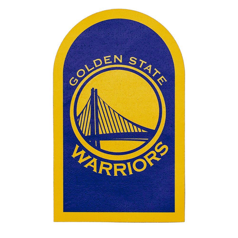 NBA Golden State Warriors Mailbox Door Logo Graphic