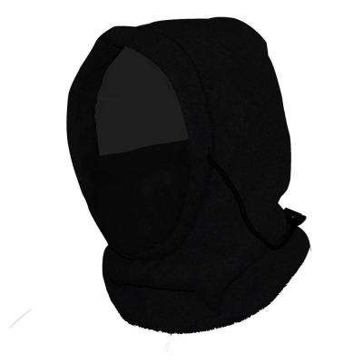 6-in-1 Fleece Hood - Black