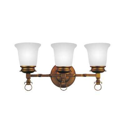 Reese 3-Light Champagne Sconce