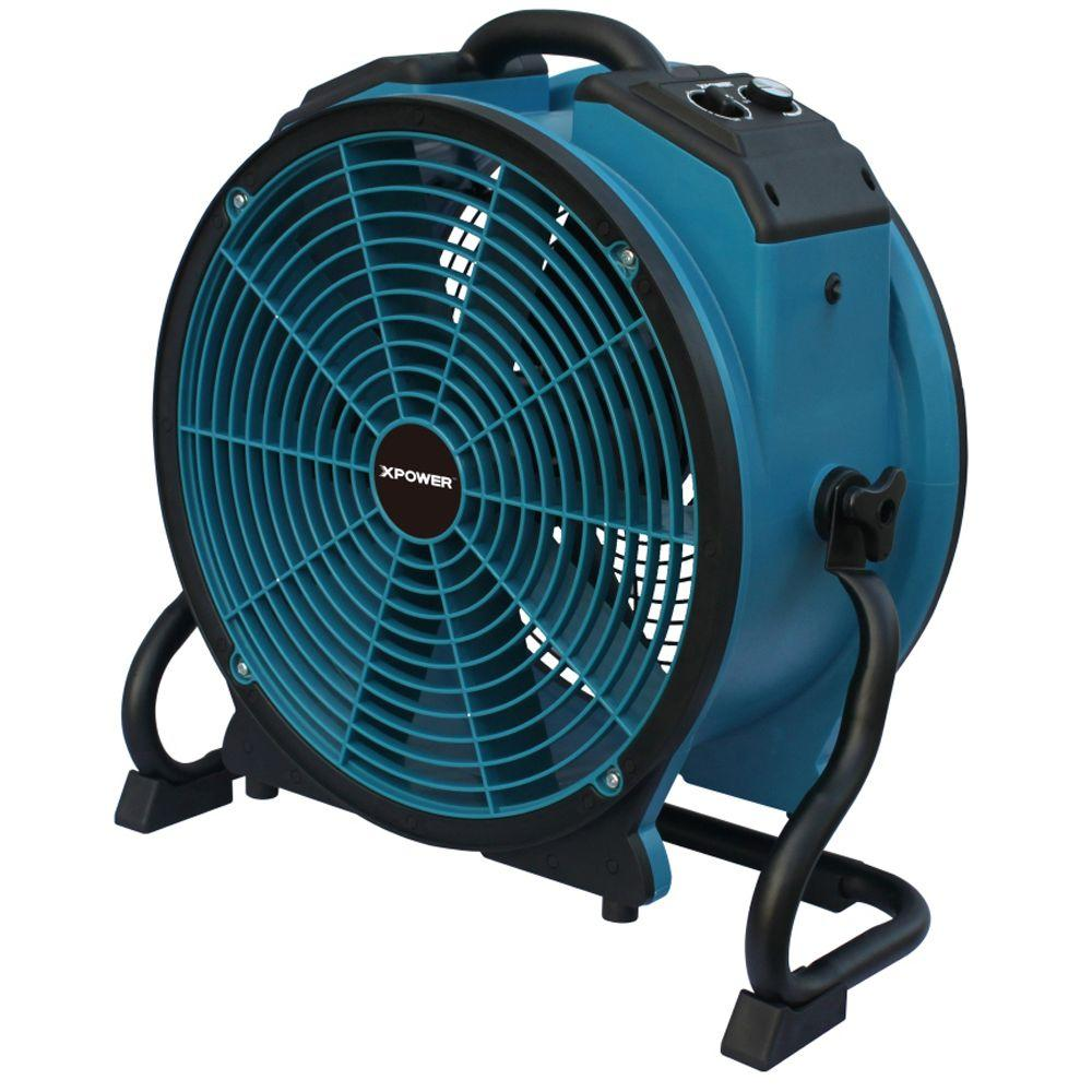 Xpower Turbopro 16 In Variable Speed Axial Fan With Daisy Chain And 3 Hour Timer X 41atr The