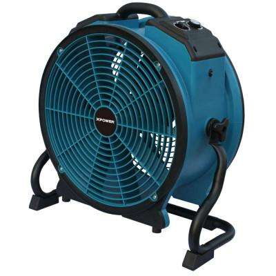 TurboPro 16 in. Variable Speed Axial Fan with Daisy Chain and 3-Hour Timer
