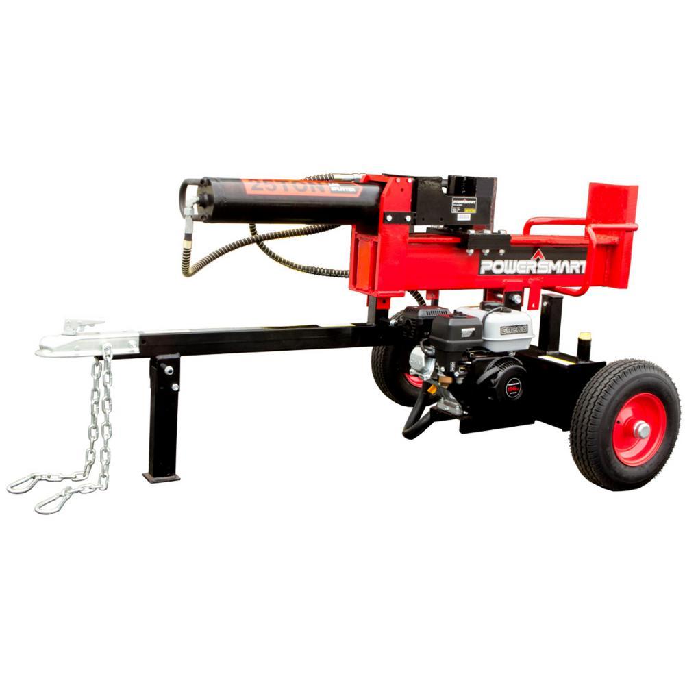 25 Ton Gas Log Splitter